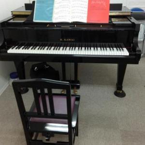 グランドピアノ練習