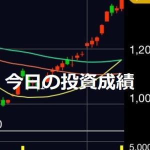 【投資】1月24日の投資成績