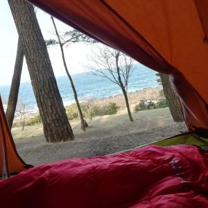 波戸岬キャンプ場にてソロキャンプ!~海を眺める最高の朝 後編~