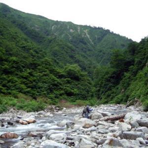 思い出の釣行 山形 荒川上流