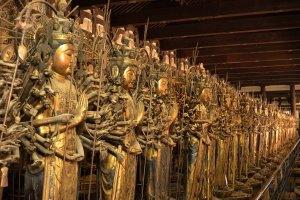 三十三間堂仏像1000体ではない?そのワケは…