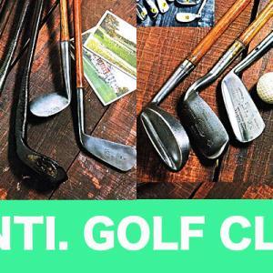 アンティークゴルフクラブの魅力