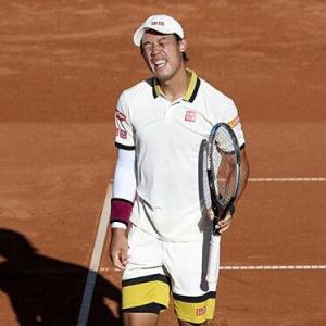 錦織圭、18歳の新星ムセッティにストレート負け BNLイタリア国際(ATP1000)