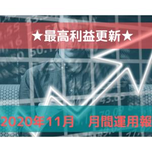 【月間運用報告】★最高利益更新★(+突然の発表)