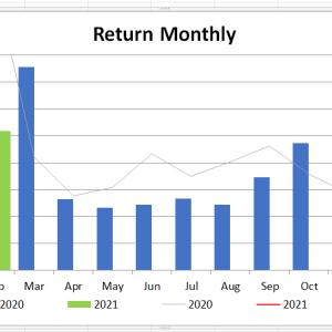 【月間運用報告】機会損失&含み損拡大中・・・