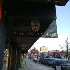 @カルガリーのカフェ!【PHILOSAFY COFFEE】コーヒーがちゃんと主張するTraditional Cappccino!