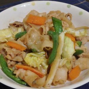 高尾山(#588)と肉野菜炒め