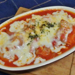 チキンのトマト煮チーズ焼き