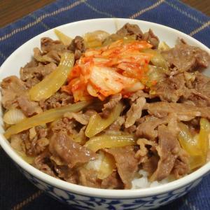 高尾山(#671)と牛丼