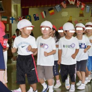 次男君の幼稚園運動会