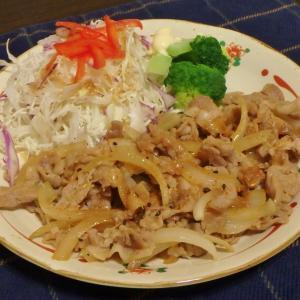 高尾山(#687)と生姜焼き