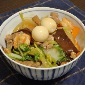 高尾山(#743)と中華丼