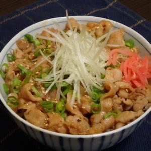 高尾山(#785)と豚丼