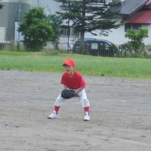 子供たちの野球部練習試合
