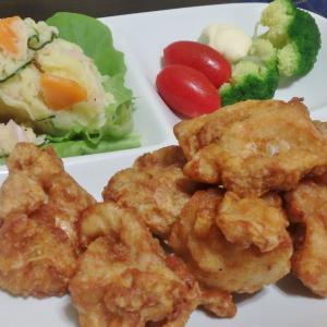 鶏の唐揚げと高尾山(#1001)