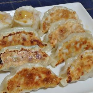 何種類かの焼き餃子と高尾山はお休み