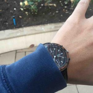 セイコー オービタックス / ユニクロ 柳井氏の腕時計が判明しました