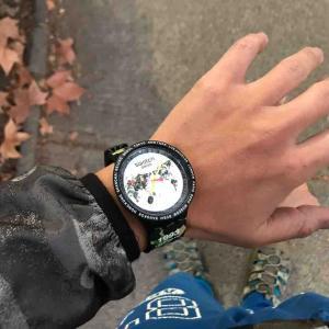 今日はswatch x BAPE