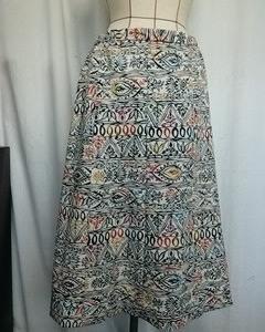 紅型の羽織から 8枚接ぎスカート