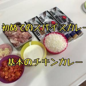 【カレー】初めてのスパイスカレー【研究】