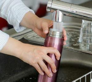 水筒のお手入れ、洗い方