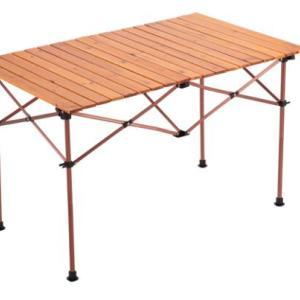 キャンプ用アイテムとしてロールトップテーブルが欲しい!