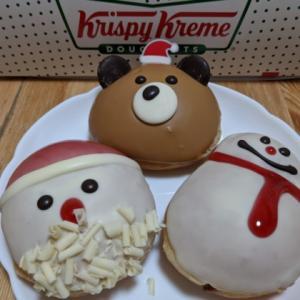 クリスピークリームドーナツではもうクリスマス?