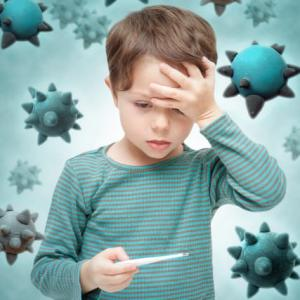 インフルエンザ?アメリカで子供が高熱を出したときの対処法