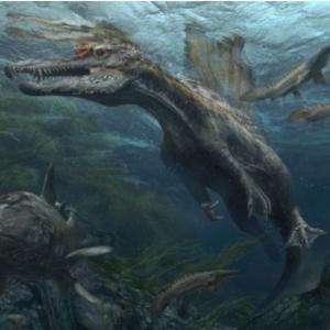 水の中の怪物