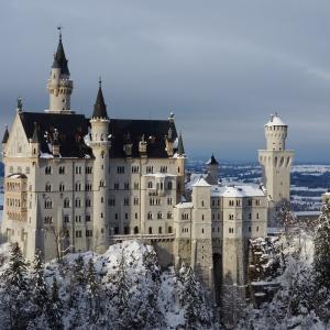 ヨーロッパのお城と王様の住居