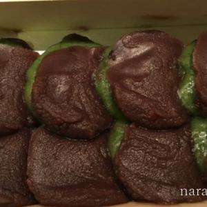 当麻寺の草餅 中将堂本舗さんのよもぎ餅はお店で食べることもできます