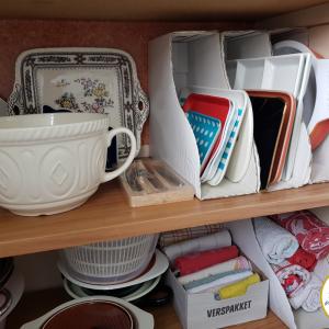 収納ジプシーを救う?! IKEA マガジンファイル④~食器の収納に~