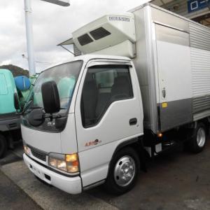 マイプロフィールを紹介♪トラック野郎時代(2トン冷凍車)!