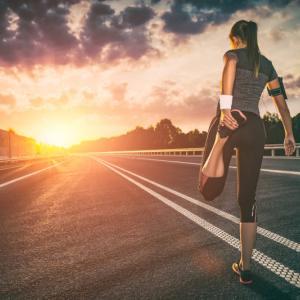 走る時は走る!