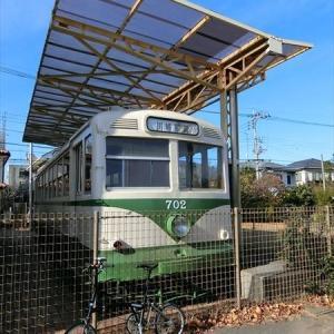 『川崎めぐり』その十一  川崎で走った「市電702」は、公園で日向ぼっこしてました