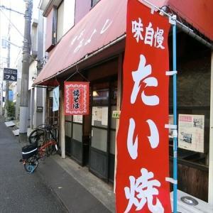 昭和の店で、お昼のフルコースは「焼きそば」と「たい焼き」
