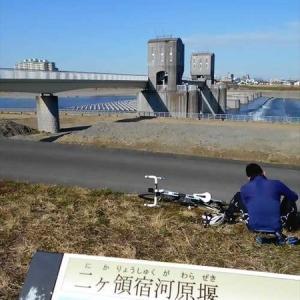 デジタルカメラの虫干しは多摩川で