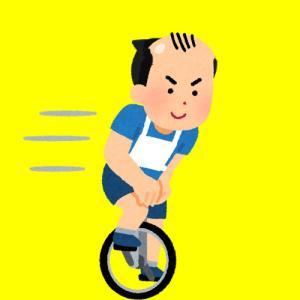 【ハゲ速報】一輪車で疾走するハゲが撮影される!!!(動画あり)