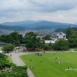 【金沢・観光】  金沢城公園の城内②素晴らしい眺め