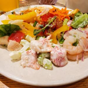 お台場でディナー【シズラー】のサラダバーは美味しくて楽しいです♪