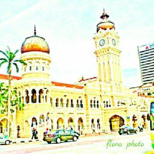 【マレーシア】ムルデカスクエアや美しいイスラム