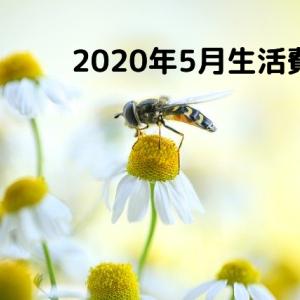 2020年5月の生活費