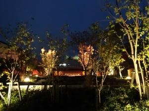 夜の散策 〜湯畑から地蔵へ〜