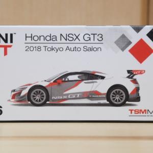 【MINIGT】NSX GT3 東京オートサロン【ミニカー】