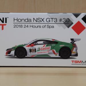 【MINIGT】NSX GT3 スパ24時間2018【ミニカー】