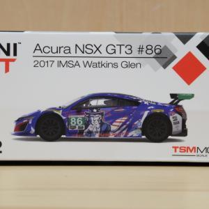 【MINIGT】NSX GT3 ワトキンスグレン #86【ミニカー】