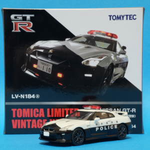 【トミカ】TLV 日産GT-R パトロールカー 栃木県警察仕様【ミニカー】