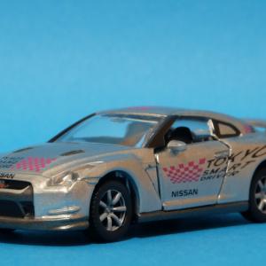 【交通安全】日産GT-R ホメパト【トミカ】