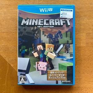 WiiU版マインクラフトはまだ遊べる⁉︎スイッチ版との違いは⁉︎