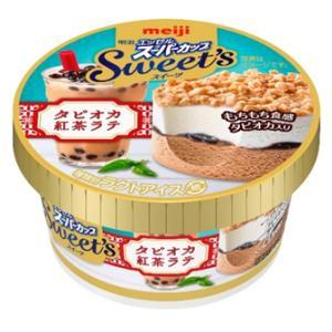 明治から『明治 エッセルスーパーカップSweet's タピオカ紅茶ラテ』が3月30日から新発売!